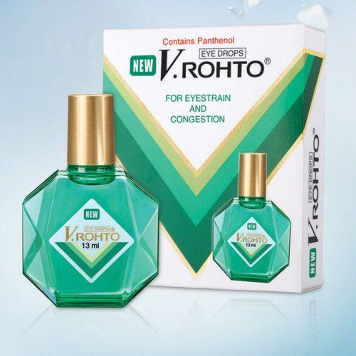 японские капли rohto рохто вьетнам синие зеленые cool new